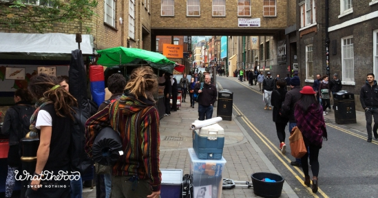 The street food of London